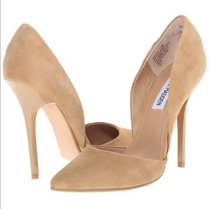 Steve Madden Varcityy suede d'orsay pump 7.5